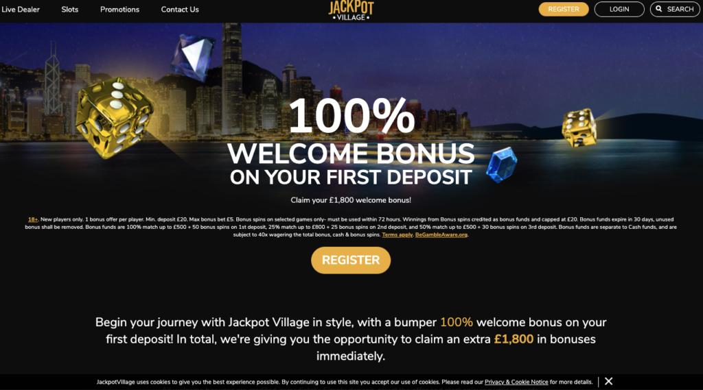 jackpot village promotions