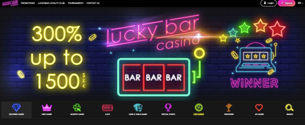 luckybar casino
